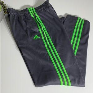 Adidas Neon 3 stripe jogger Sz xl (18)
